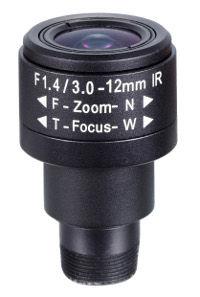 Obiektyw Mpix LC-M125VM3312IR - Obiektywy megapikselowe