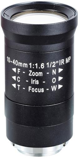 Obiektyw Mpix LC-M12VM1040IR - Obiektywy megapikselowe