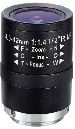 Obiektyw Mpix LC-M12VM412IR - Obiektywy megapikselowe
