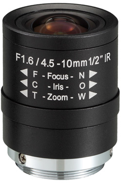 Obiektyw Mpix LC-M12VM4510 - Obiektywy megapikselowe