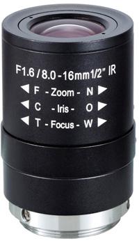 Obiektyw Mpix LC-M12VM816IR - Obiektywy megapikselowe