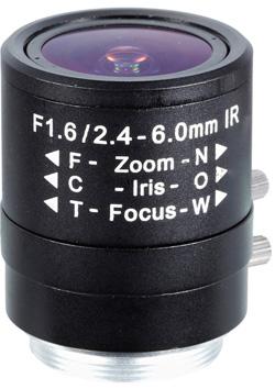 Obiektyw Mpix LC-M13VM246IR - Obiektywy megapikselowe