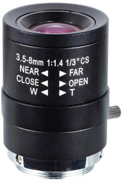 Obiektyw Mpix LC-M13VM358 - Obiektywy megapikselowe