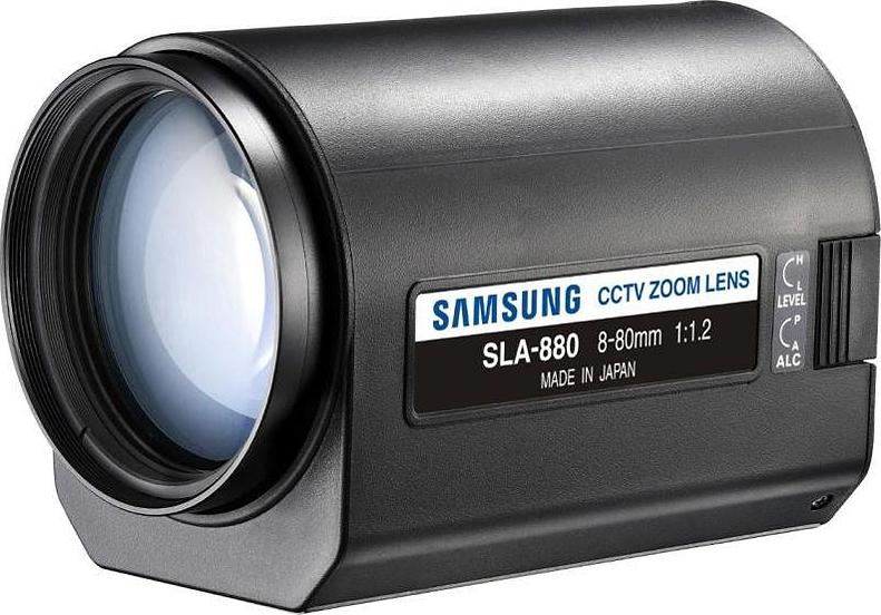 Samsung SLA-880 - Obiektywy megapikselowe