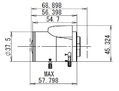 Obiektyw Mpix Tamron TVR0314HDDC - Obiektywy megapikselowe