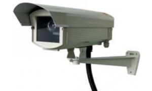Profesjonalna atrapa kamery zewnętrznej