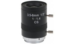 OBIEKTYW ZOOM CS-3.5-8 3.5 ~ 8 mm